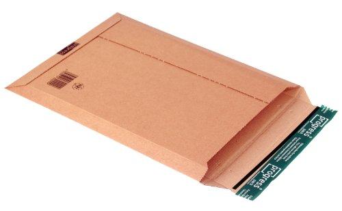 progressPACK Torba do wysyłki kalendarza Premium PP W01.08 z tektury falistej, DIN A3, 335 x 500 x do 50 mm, opakowanie 25 sztuk, brązowa
