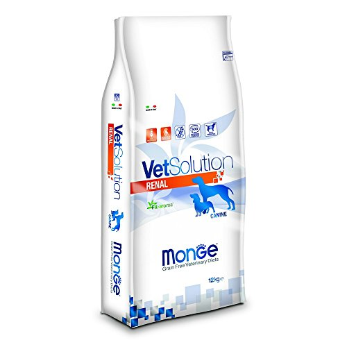 Monge Vetsolution Cane Renal kg. 12 Alimenti Secchi per Cani, Multicolore, Unica