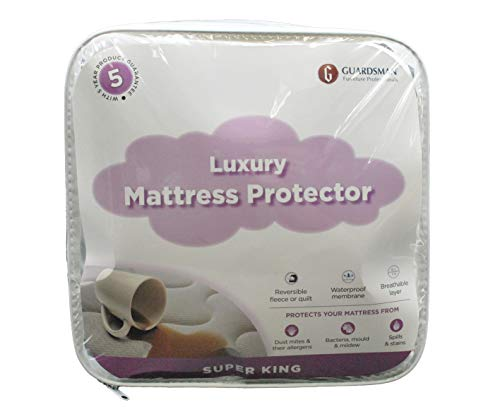GUARDSMAN EXCELLENCE IN FURNITURE CARE Mattress Protector - Guardsman Mattress Protector available in Single, Double, King and Super King (Super King)
