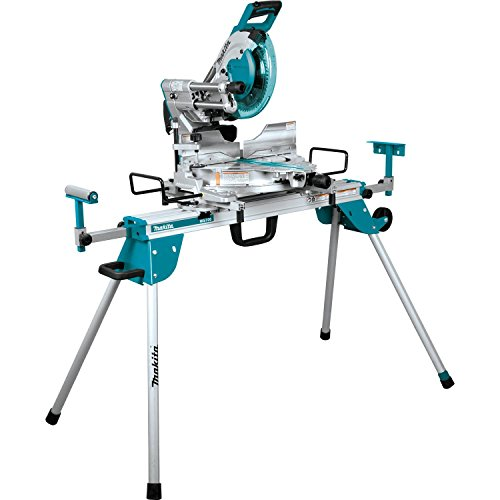 """Makita LS1019LX 10"""" Dual-Bevel Sliding Compound Miter Saw with Laser and Stand"""