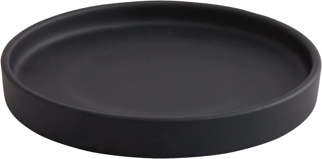 12 Inch Ceramic Saucer - Drainage Woi Regular store Plant Max 51% OFF Pot For Tray