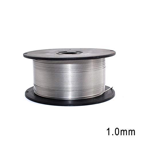 Cutowin 1 Rollo de Alambre de Soldadura de Acero Inoxidable 0,8 mm,...
