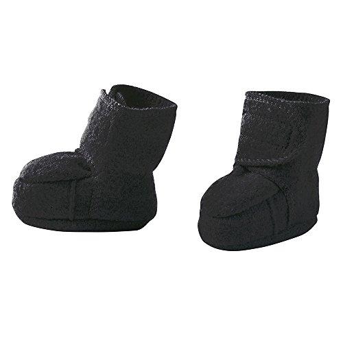 disana Baby Walk-Schuhe Bio-Merinoschurwolle, Anthrazit, Gr. 01 (4-8 Monate)