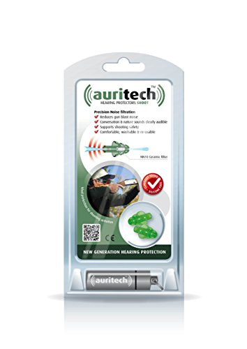 AURITECH SHOOT Earplugs- Intelligent Hearing Protection for shooting
