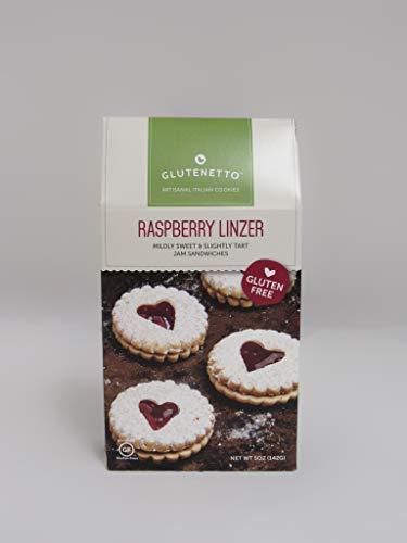 Gluten Free Raspberry Linzer Cookies 6pk / 5oz