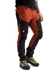 RevolutionRace Herren GPX Pro Pants, Hose zum Wandern und für viele Outdoor-Aktivitäten, Rusty Orange, S