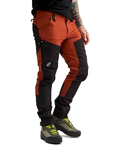 RevolutionRace Herren RVRC GP Pro Pants, Hose zum Wandern und für viele Outdoor-Aktivitäten, Rusty Orange, M