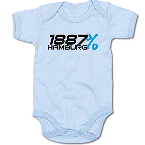 G-graphics 1887{6af0fc890001d3c65a55eb9d21b3a981ade38140348865095a45cfb7b01d7050} Hamburg Baby Body Suit Strampler 250.0284 (3-6 Monate, blau)