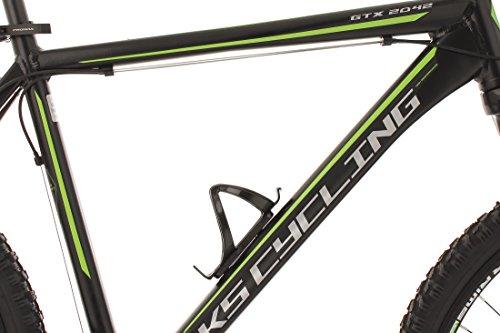 KS Cycling Fahrrad Mountainbike MTB Hardtail 26 Zoll GTX RH 51 cm, Schwarz - 2