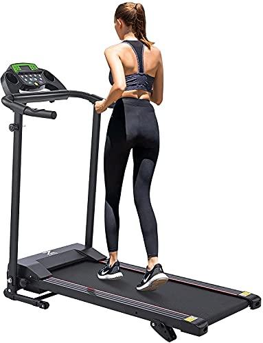 Z ZELUS Klappbar Home Laufband mit Steigung und Bluetooth, 10 km/h Walking pad Treadmill mit 12 Programmen, kostenlose Fitness-App, Pulsmesser, Upgrade Version