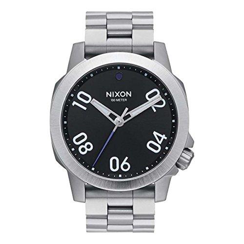 Nixon Reloj Unisex Adultos de Digital con Correa en Acero Inoxidable A468-000-00