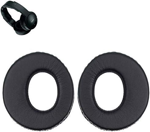 MDR-RF985R Earpads Replacement Ear Pads Muffs Parts Compatible with Sony MDR-RF985R RF970R RF960R RF925R Headphones. (Dark Black)