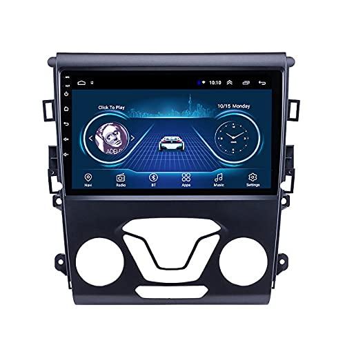 DSAK Auto Video Player Car GPS Navigator è Adatto per Ford Mondeo 2013-2017 Auto Navigazione Auto Android Big Screen Screen Reversibile