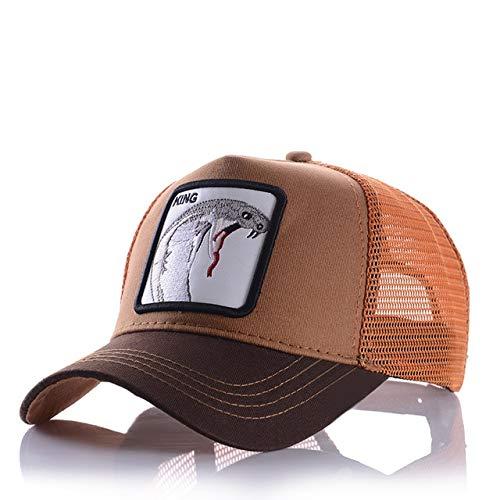 Gorras de béisbol para Hombre, Mujer, Ajustable, Universal, Exteriores, Sombra, papá, Conductor de camión, Sombreros de Malla-a1