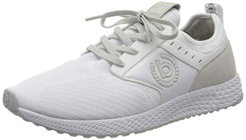bugatti Herren 3415176A6900 Sneaker, Weiß, 41 EU