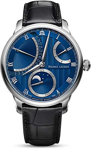 Maurice Lacroix Masterpiece Moon Retrograde MP6588-SS001-431-1 Orologio...