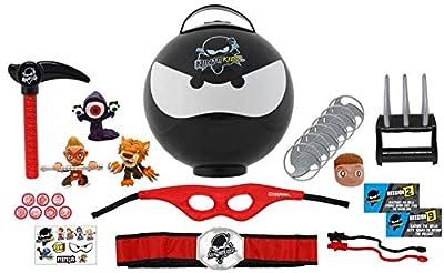 Ninja Kidz TV Giant Mystery Ninja Ball | Includes Ninja Kidz TV Collectibles and Accessories | 3 Unique Ninja Balls to Collect | Fun Toy for Kids