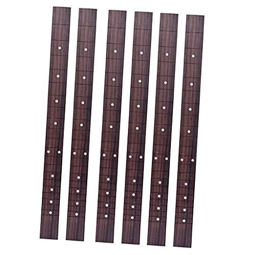freneci 6x Diapasón de Guitarra Caja de Puros Instrumento de Diapasón Que Hace Acceso a Las Piezas