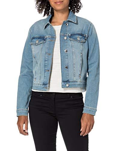 Love Moschino Stretch Cotton Denim 5 Pockets Jacket Chaqueta Vaquera, 222c, 48 para Mujer