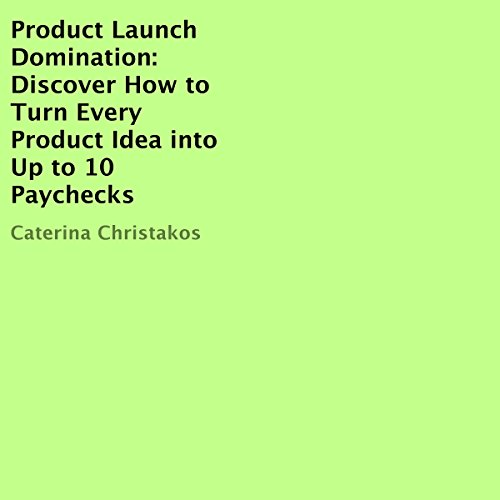 Product Launch Domination audiobook cover art