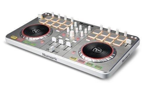Numark–mixtrack-ii USB DJ-Controller mix-track II Virtual DJ