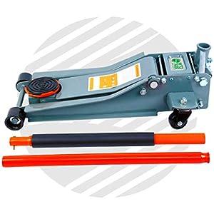 Gato hidráulico de perfil bajo 3t con instalación de elevación rápida, 3000 kg