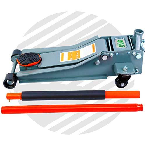 Cric rouleur compact 3 tonnes avec système de levage rapide