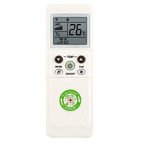 ElettrOutlet Control Remoto Universal para acondicionador de Aire Acondicionado