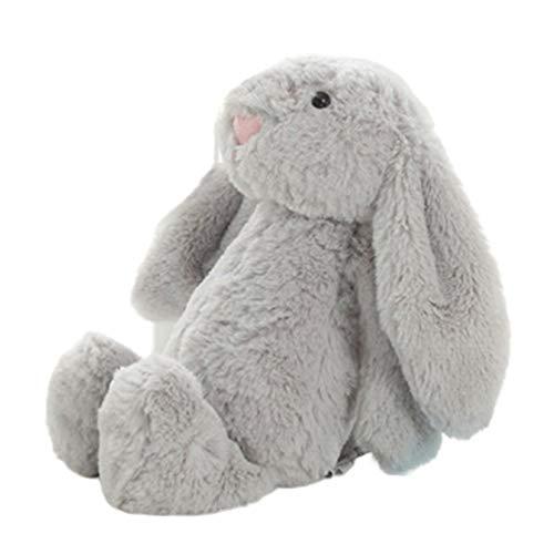 LeftSuper Peluche de Juguete de Peluche, Conejo, muñeca, bebé, compañero para Dormir, Lindo, Felpa, Oreja Larga, Conejo, muñeca, Regalo para niños