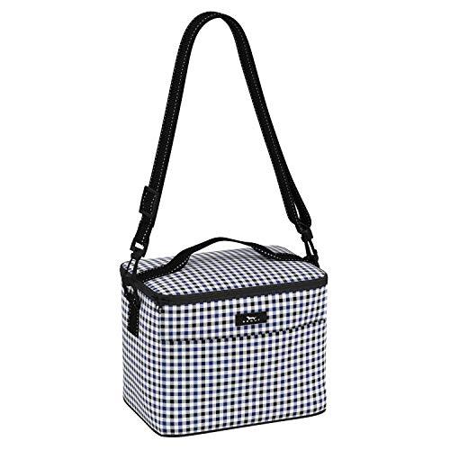 SCOUT Ferris Kühler Isolierte Lunchbox für Frauen, Wasserabweisende Weiche Kühltasche mit verstellbarem Riemen im Karomuster Magnetmuster (Mehrere Muster erhältlich)