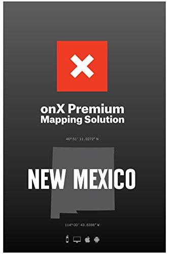 La chasse GPS Maps Nouveau-mexique Public privé Land Possession Topo GPS Maps