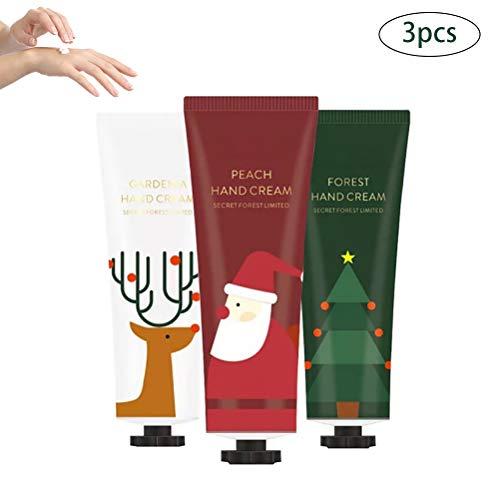 Surenhap 3pcs Hydratation de Noël Crème pour Les Mains Ensemble Cadeau de Noël