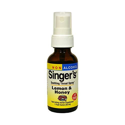 Herbs Etc, Singer's Saving Grace® Lemon & Honey Non Alcohol
