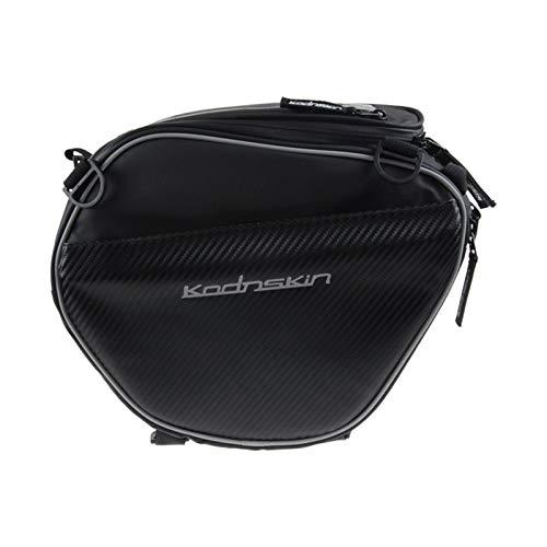 KXLB Kxlbhjxb Bolsa de Tanques de Combustible de Motocicleta Bolso del Tanque de Combustible de la navegación del teléfono móvil Bolsa de Montar (Color Name : Black)