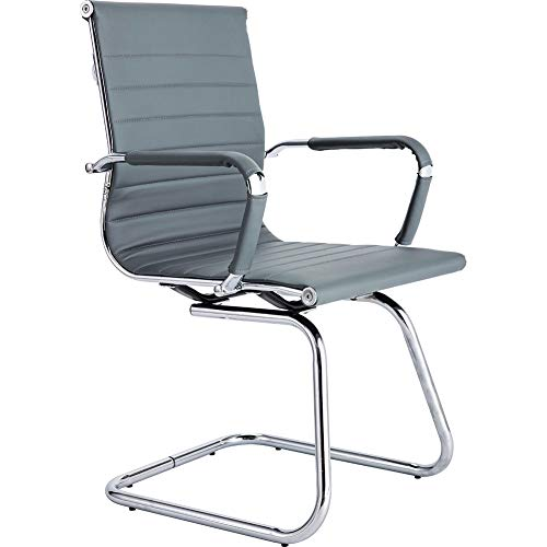 CoVibrant Modern Office Chair Without Wheels Waiting Room Chairs