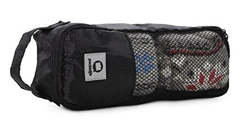 HAUPTSTADTKOFFER – Packhilfe - Packtasche S, Koffer Organizer, Aufbewahrungstasche für Socken, Unterwäsche, Gepäcktasche für Reisen, Kofferorganizer, Packwürfel, Kleidertasche, Reisetasche, 30 cm