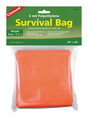 Coghlan's 7698765 Sac de Survie Mixte Adulte, Orange