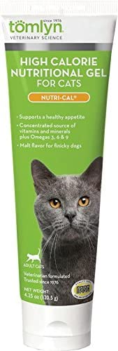 TOMLYN Nutri-Cal High Calorie-Nutritional Gel for Cats & Kittens, 4.25oz