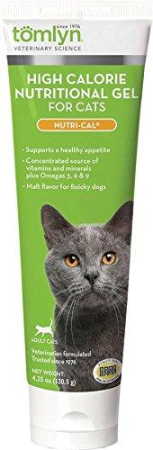 Tomlyn High Calorie Nutritional Gel for Cats, (Nutri-Cal) 4.25 oz