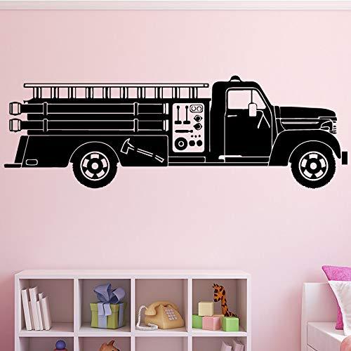 hetingyue fotobehang voor vrachtwagen/vrachtwagen/familie-decoratie, zelfklevend, muurstickers voor kinderkamer