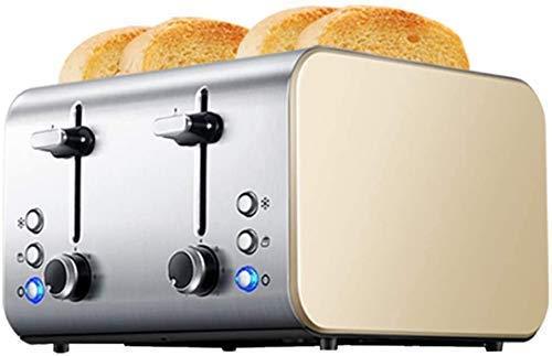 ykw Sandwich casero de la máquina del Desayuno de la tostadora de Pan del Acero Inoxidable 1400W