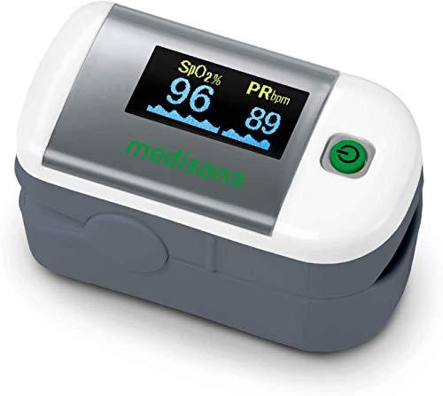 MEDISANA Pulsoximeter Oximeter PM A10 Blutsauerstoffsättigung (SpO2%) Herzfrequenz (Pulsfrequenz)