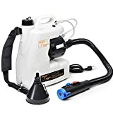 SuperFogger 12L Portable ULV Fogger,Electric Intelligent Backpack Sprayer Disinfection Machine for...
