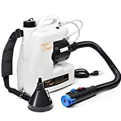 【WIDE APPLICATION】You can receive the electric ULV spray in 4-8 working days. Our fogger could be used for hotel, home, shopping malls, restaurants, family ,schools, theaters and other etc. 【LARGE CAPACITY FOGGER】The fogger has 12 L capacity, can enj...