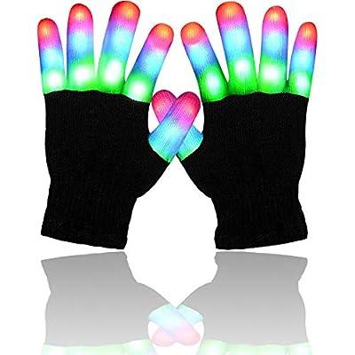 Amazon - Save 50%: Randalfy Light Up Gloves – Light Gloves for Kids/Boys/Girls,Light-up Gloves for…