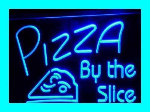 A la luz de la lámpara de pie i306-b open pizza luz de neón Sign Barlicht a la luz de la publicidad de neón de la luz de la
