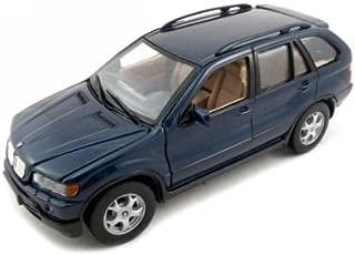 BMW X5 Diecast Car Model 1/24 Blue