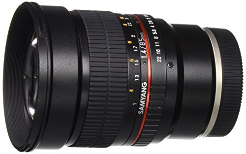 Samyang SY85M-E 85mm F1.4 Aspherical High Speed Lens for Sony E-Mount Cameras