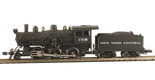 MDP N Scale New York Central 2-6-0 Mogul Model Train Steam Locomotive - Model Power 87607