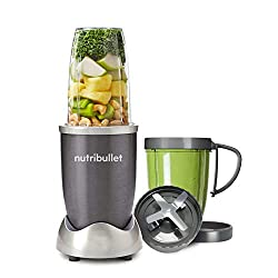 HIGH SPEED BLENDER - the original and best-selling NutriBullet, loved by millions around the world. POWERFUL NUTRIENT EXTRACTOR - Nutribullet's powerful 600W motor and cyclonic technology creates delicious NutriBlasts by breaking down whole vegetable...